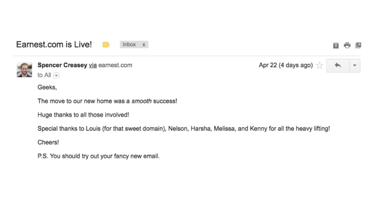 moving domains live email